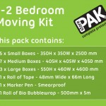 1-2 Bedroom Moving Kits