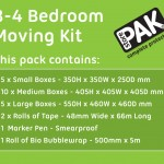 3-4 Bedroom Moving Kits