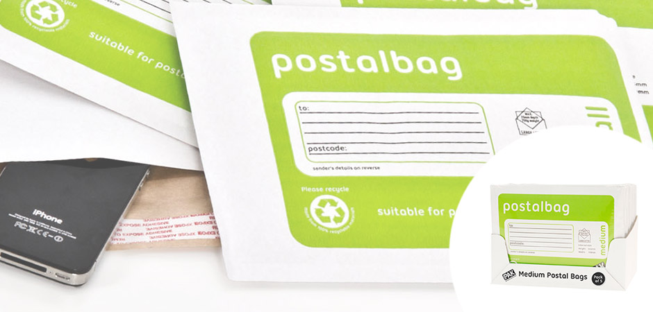 StorePAK Postal Bags available now in counter display units