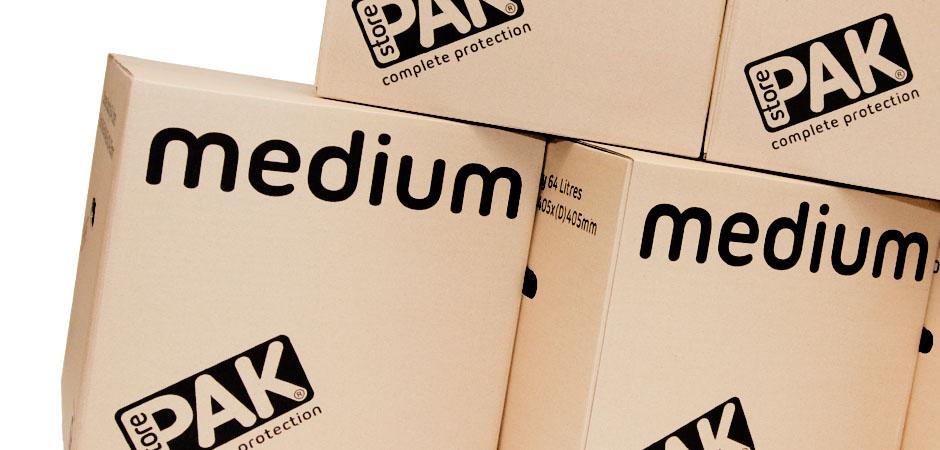 StorePAK Medium Boxes