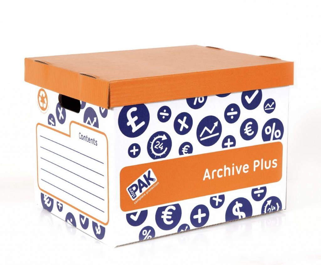 Archive Plus Storage Boxes