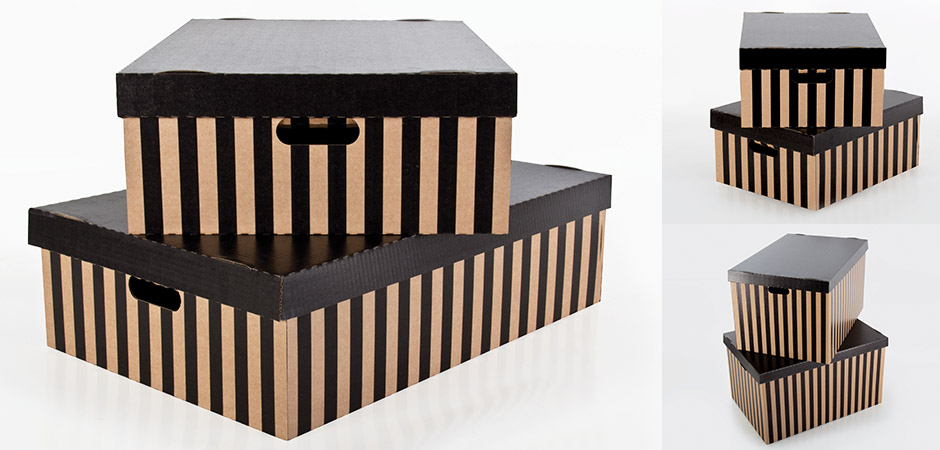 Home Storage Boxes from StorePAK