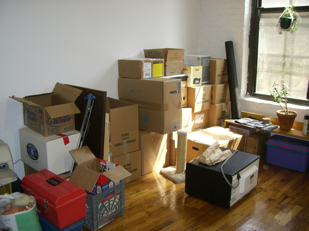 tips of moving out