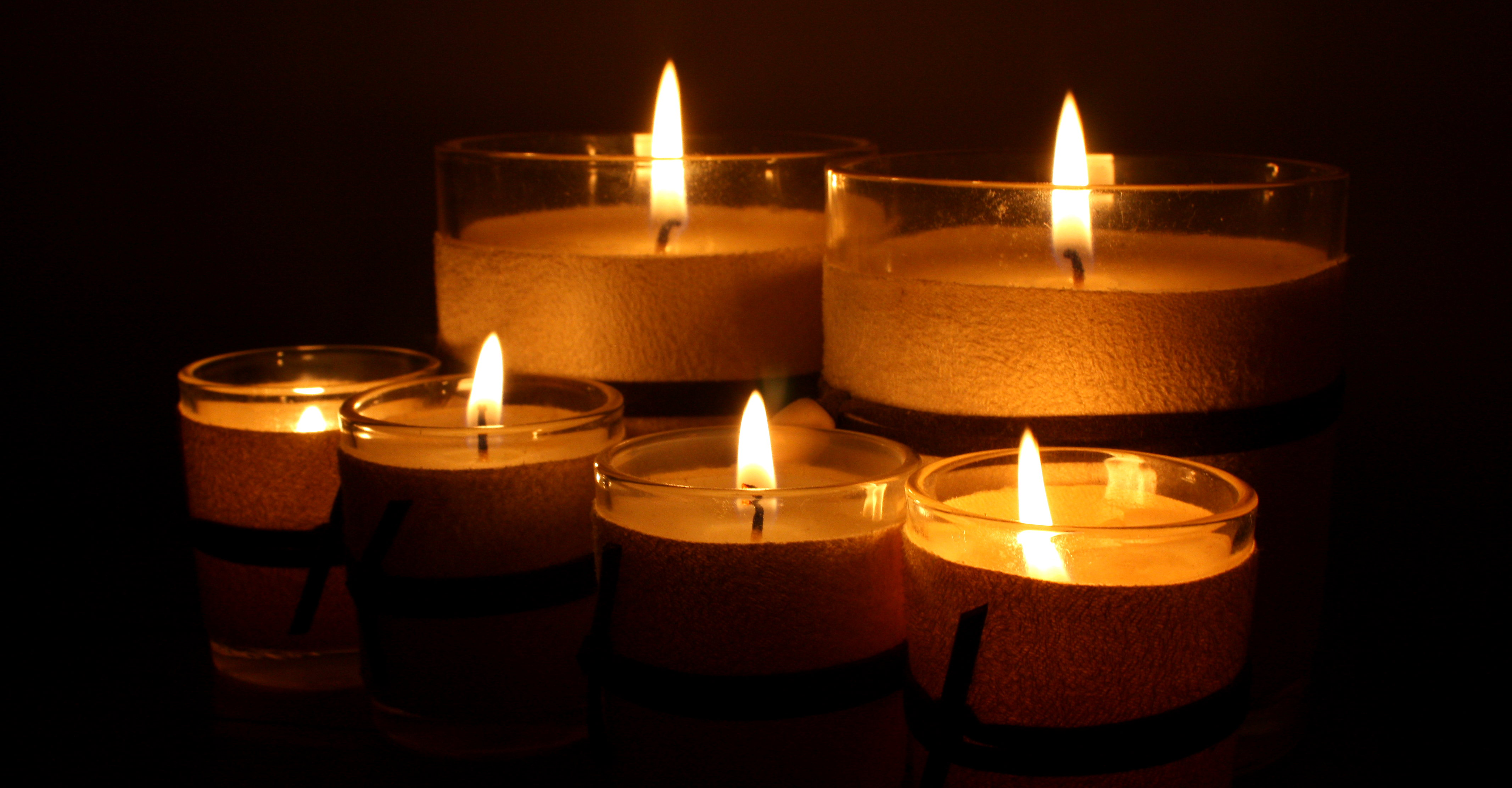 candles storing