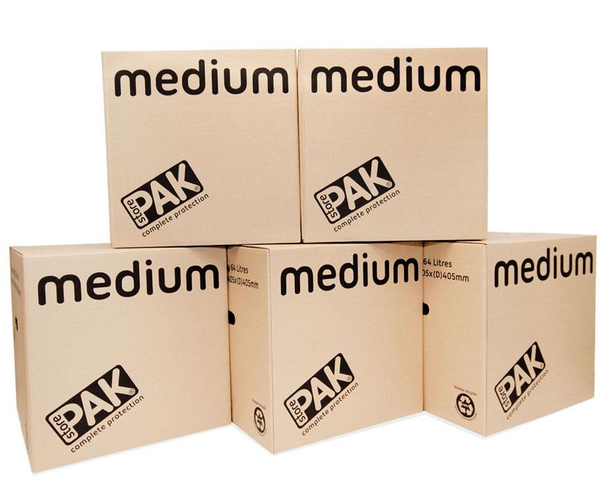 Medium Boxes from StorePAK
