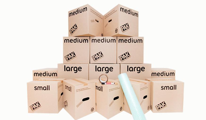 Moving Kits boxes