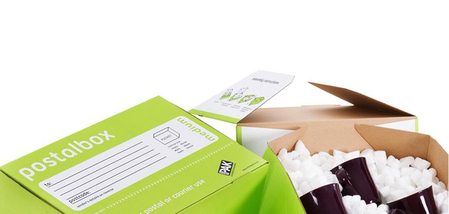 Medium postal boxes